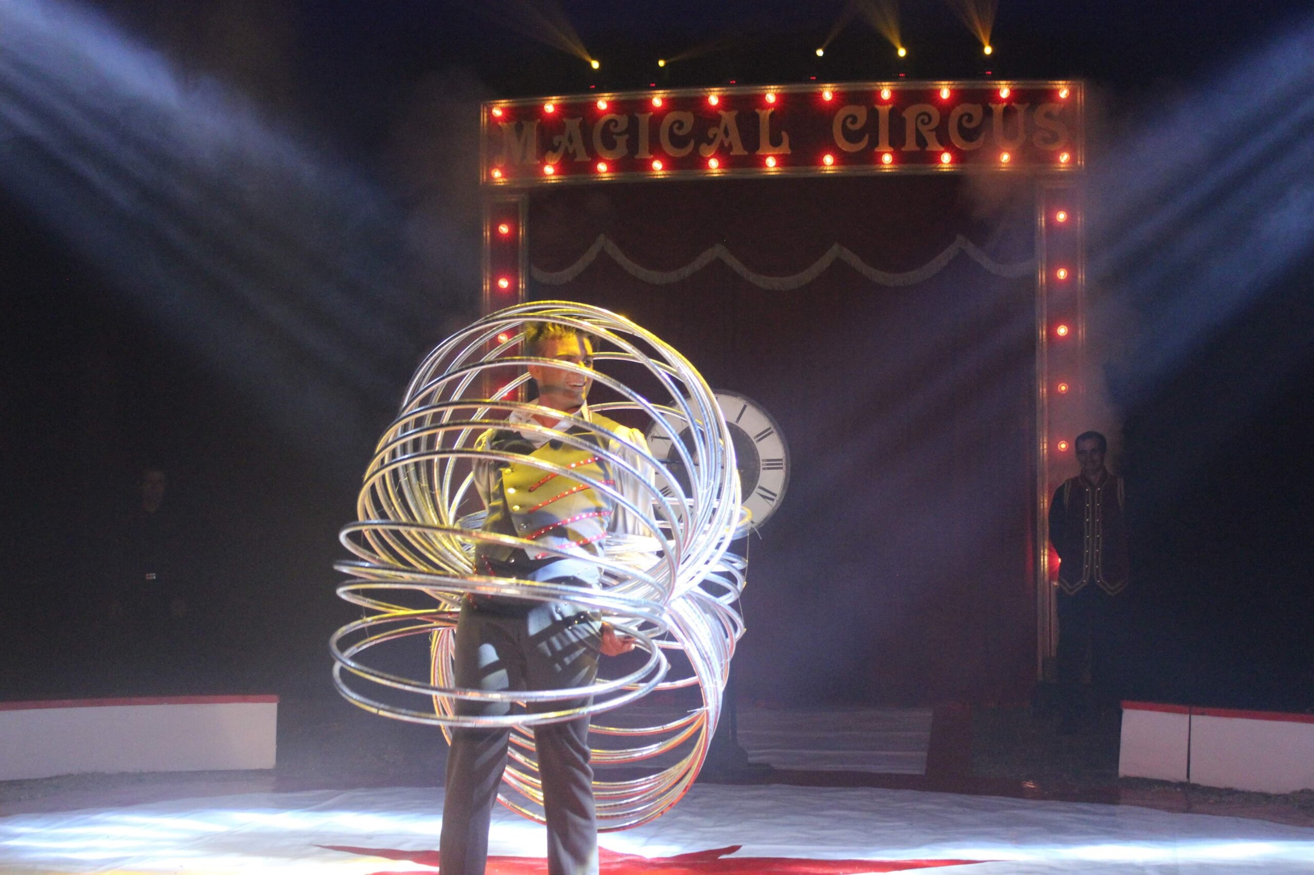 Circus artist in The Netherlands