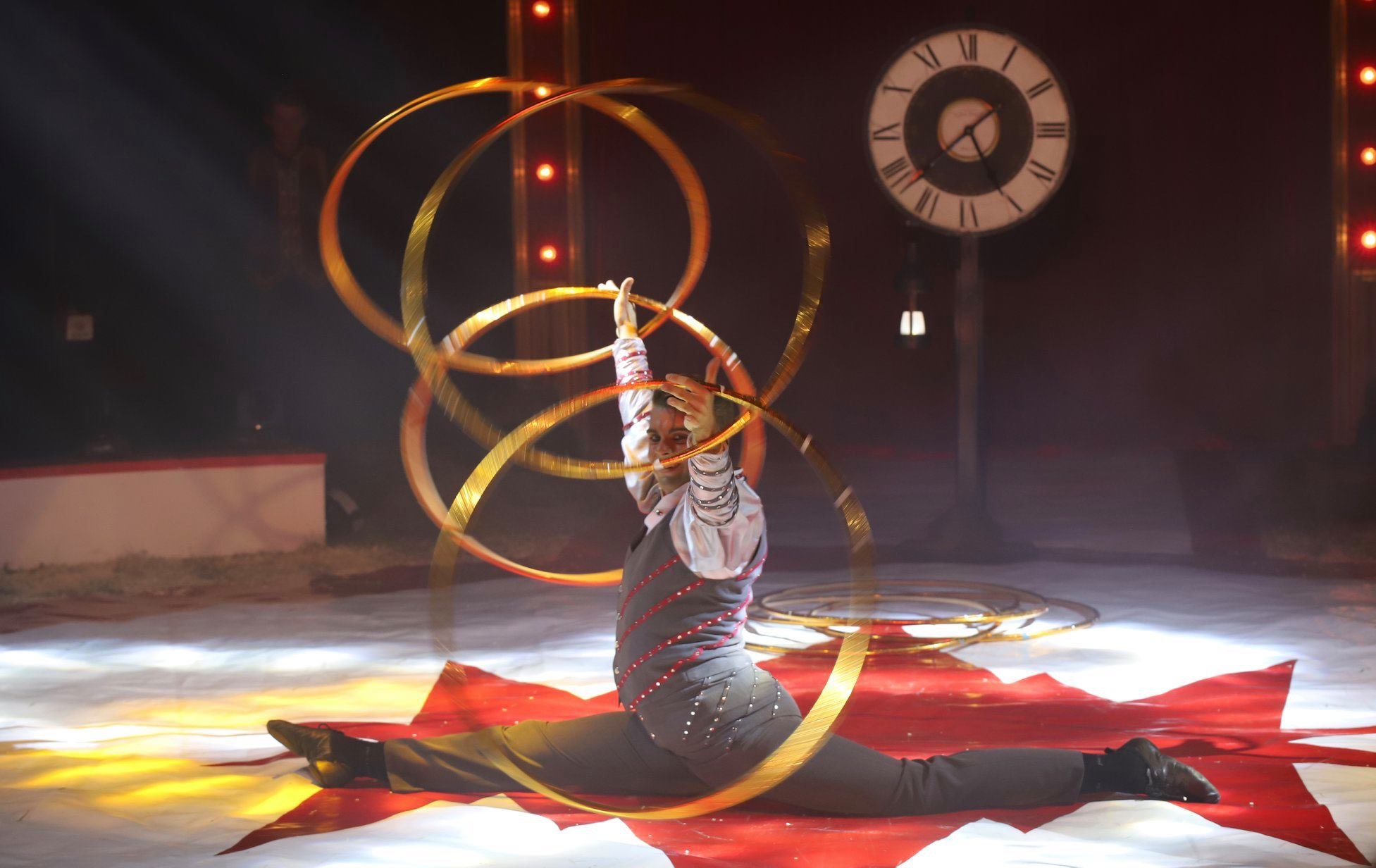 A circus artist that felt in love with The Netherlands